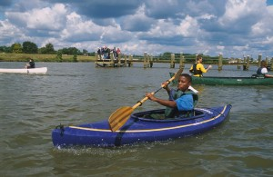 Kayaking the Anacostia (Courtesy MNCPPC)