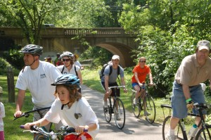 Annual Bike Rally on Northwest Branch